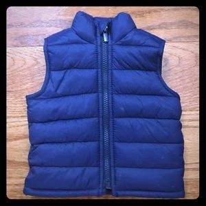 Old Navy Infant Puffer Vest 3-6 Months